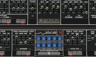 Der virtuelle Polymoog XILS-lab PolyM im Test