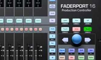 Presonus FaderPort 16: DAW-Kontrolle mit 16 Motor-Fadern!