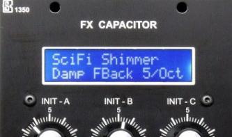 Synthetic Sound Lab FX Capacitor - Multieffekt für Modularsysteme