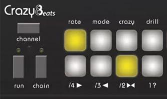 Crazy8beats von Twisted Electrons: Spannender Hardware-Sequenzer gesichtet