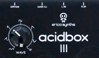 Acidbox III - Polivoks VCF Emulation von Erica Synths