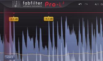 FabFilter Pro-L 2: aufgefrischter Profi-Limiter jetzt erhältlich