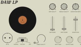Klevgränd Produktion DAW LP: Plattenspieler als Plug-in mit Crackles & Co.