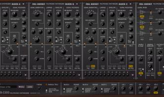 Full Bucket Music FB-3300 im Kurztest: Kostenloser Korg PS-3300-Klon