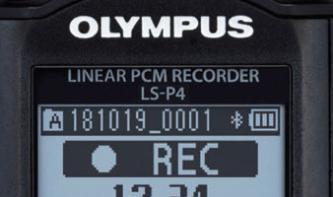 OlympusLS-P4 im Kurztest: Fieldrecorder mit FLAC-Unterstützung und mehr