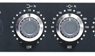 Warm Audio WA73-EQ im Test: Inspiriert vom Neve 1073