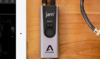Apogee Jam+, mobiles Audio-Interface mit Drive-Modus