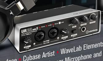 Steinberg UR22mkII Audio-Interface in neuem Bundle erhältlich