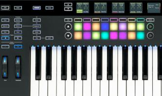 Novation SL MkIII: MIDI und CV-fähiger Keyboard-Controller
