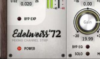 Black Rooster Audio Edelweiss'72: Kanalzug für das Mixing