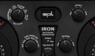 Klasse: SPL Iron Mastering-Kompressor als Plug-in