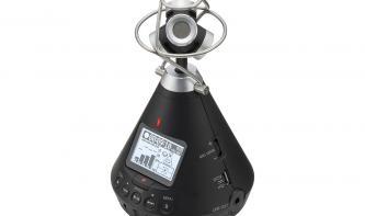 Zoom H3-VR im Test: Mobilrekorder für 360-Grad-Aufnahmen