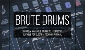 Drum Depot: Brute Drums – 24 Drumkits kostenlos